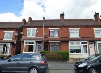 Thumbnail 3 bed terraced house for sale in Ferry Street, Burton-On-Trent, Staffordshire