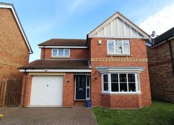 Thumbnail 4 bed detached house for sale in Turham Court, Rossington, Doncaster