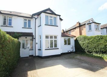 Thumbnail 3 bed semi-detached house for sale in Halliford Road, Sunbury-On-Thames