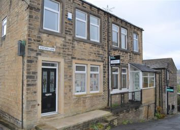 Thumbnail 2 bed end terrace house for sale in Station Lane, Golcar, Huddersfield