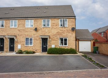 Thumbnail 3 bed end terrace house for sale in Flinders Drive, Peterborough