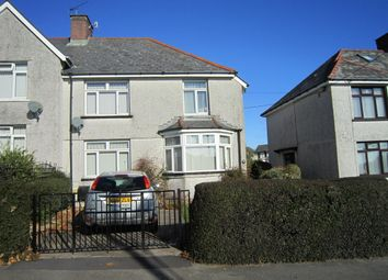 Thumbnail 3 bed semi-detached house for sale in Moorland Road, Bargoed