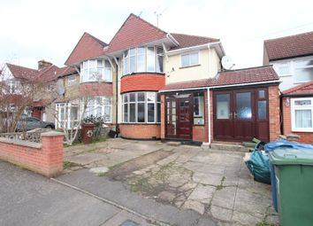 Thumbnail 4 bed semi-detached house to rent in Manor Way, Harrow