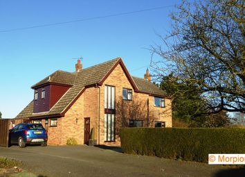 Thumbnail 4 bed detached house for sale in School Lane, Hales, Norwich