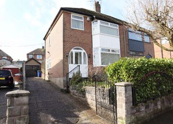 Thumbnail 3 bed semi-detached house for sale in Coupe Drive, Weston Coyney, Stoke-On-Trent, Staffordshire