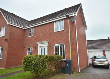 Thumbnail 2 bed semi-detached house for sale in Garlandstone Walk, Hempsted, Gloucester
