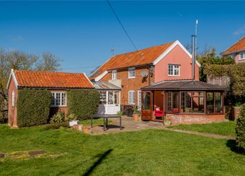 Thumbnail 3 bedroom detached house for sale in Mill Lane, Bruisyard, Saxmundham, Suffolk