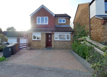 Thumbnail 3 bed detached house for sale in Cherry Tree Rise, Walkern, Stevenage