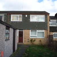 Thumbnail 4 bedroom terraced house to rent in Oatland Close, Woodhouse, Leeds