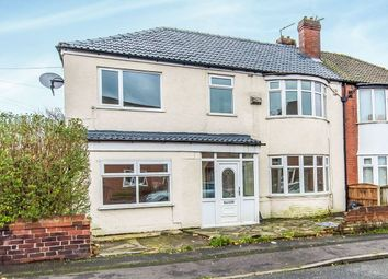 Thumbnail 4 bed semi-detached house for sale in Harrop Street, Abbey Hey, Manchester