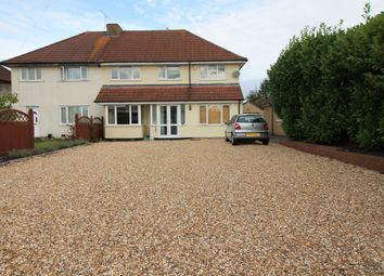 Thumbnail 5 bedroom semi-detached house for sale in Chescombe Road, Yatton, North Somerset