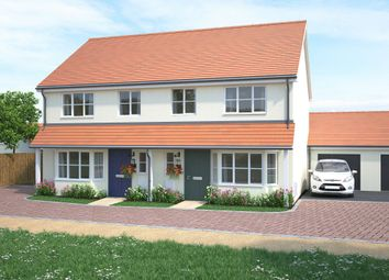 Thumbnail 3 bedroom semi-detached house for sale in Tews Lane, Barnstaple, Devon