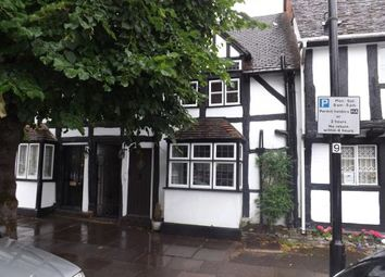 Thumbnail 2 bed terraced house for sale in High Street, Henley-In-Arden