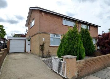 Thumbnail 2 bed semi-detached house for sale in Troutbeck Drive, Carlisle, Cumbria