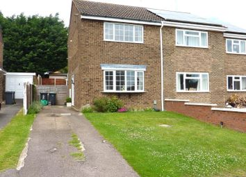 Thumbnail 2 bed semi-detached house to rent in Christian Close, Harlington, Dunstable