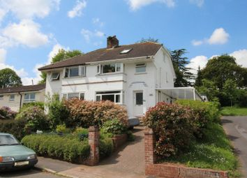 Thumbnail 4 bedroom semi-detached house for sale in Charnley Avenue, Exeter