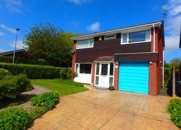 Thumbnail 4 bed detached house for sale in Sorrel Close, Padgate, Warrington