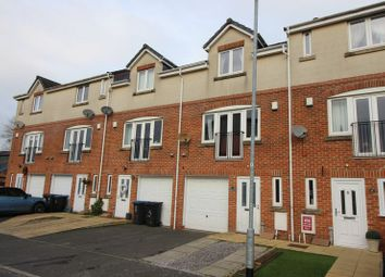 Thumbnail 3 bed town house for sale in Lyndale Close, Leek, Staffordshire
