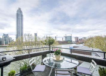 Thumbnail 3 bedroom flat for sale in Crown Reach, 145 Grosvenor Road, London