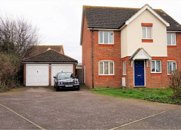 Thumbnail 4 bed detached house for sale in Columbine Close, Whitstable