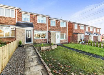 Thumbnail 3 bedroom terraced house for sale in Lupin Close, Chapel Park, Newcastle Upon Tyne