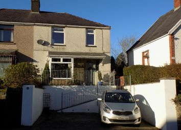Thumbnail 4 bed semi-detached house for sale in Park Street, Tonna, Neath, Neath Port Talbot.
