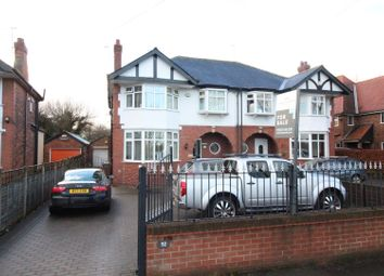 Thumbnail 4 bedroom semi-detached house for sale in Hull Road, Cottingham