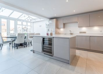 Thumbnail 3 bed town house to rent in Stevens Way, Church Crookham, Fleet