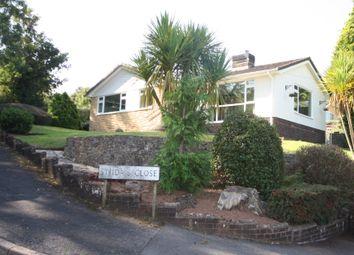 Thumbnail 3 bed detached bungalow to rent in St. Idas Close, Ide, Exeter