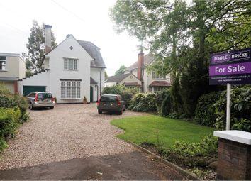Thumbnail 3 bed detached house for sale in Saffron Road, Wigston