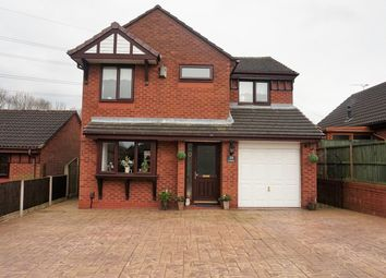 Thumbnail 4 bed detached house for sale in Haywood Crescent, Runcorn