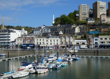 Thumbnail 2 bed flat to rent in Park Hill Road, Torquay