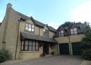 Thumbnail 6 bed detached house for sale in Laxton Drive, Oundle, Peterborough