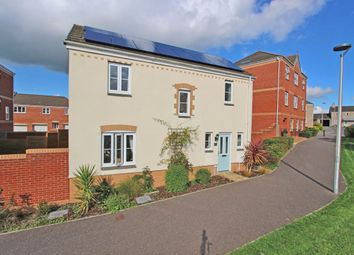 Thumbnail 3 bedroom detached house for sale in Raleigh Drive, Cullompton, Devon