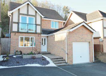 Thumbnail 4 bed detached house for sale in Woodside Walk, Cross Keys, Newport