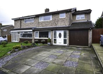 Thumbnail 4 bed semi-detached house for sale in Ellerbrook Drive, Burscough, Ormskirk