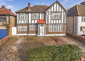 Thumbnail 5 bed detached house for sale in Manor Park Gardens, Edgware, Greater London.