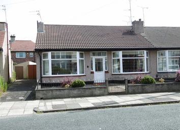 Thumbnail 3 bed semi-detached bungalow for sale in Kingsway, Wallasey, Wirral