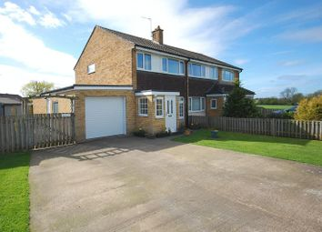 Thumbnail 3 bed semi-detached house for sale in St. Wilfred Drive, Romanby, Northallerton