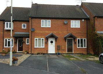 Thumbnail 2 bedroom terraced house for sale in Brighton Close, Wigston