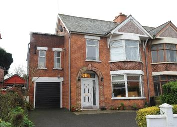 Thumbnail 4 bedroom semi-detached house for sale in Dundela Avenue, Belmont, Belfast