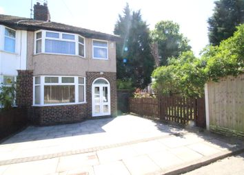 Thumbnail 3 bedroom end terrace house for sale in Whitehouse Road, Liverpool, Merseyside