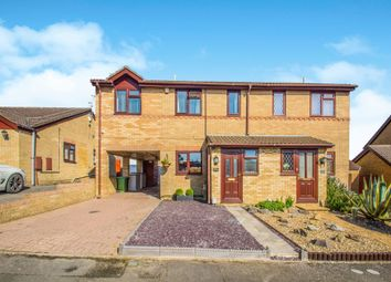 Thumbnail 3 bedroom semi-detached house for sale in Churchfields, Barry