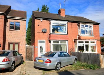 Thumbnail 2 bed semi-detached house for sale in Grove Avenue, Off York Road, Doncaster