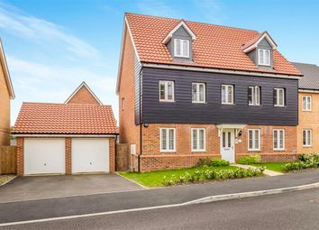 Thumbnail 5 bedroom detached house for sale in Freesia Way, Cringleford, Norwich