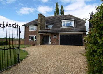 Thumbnail 4 bed detached house for sale in Bramwith Lane, South Bramwith, Doncaster