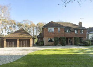Thumbnail 5 bed detached house for sale in The Fairway, Weybridge, Surrey