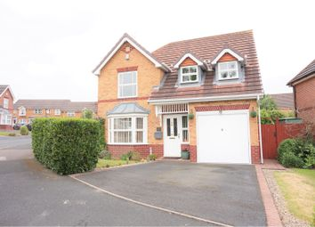 Thumbnail 4 bedroom detached house for sale in Mansion Close, Dudley