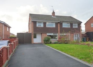Thumbnail 3 bed semi-detached house to rent in Tabley Close, Prenton