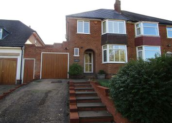 Thumbnail 3 bed semi-detached house for sale in Regency Drive, Rednal Road, Kings Norton, Birmingham